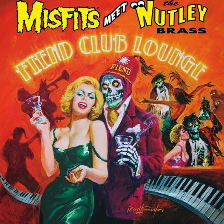 Misfits meet Nutley Brass - Fiend Club Lounge (2005 - CD)