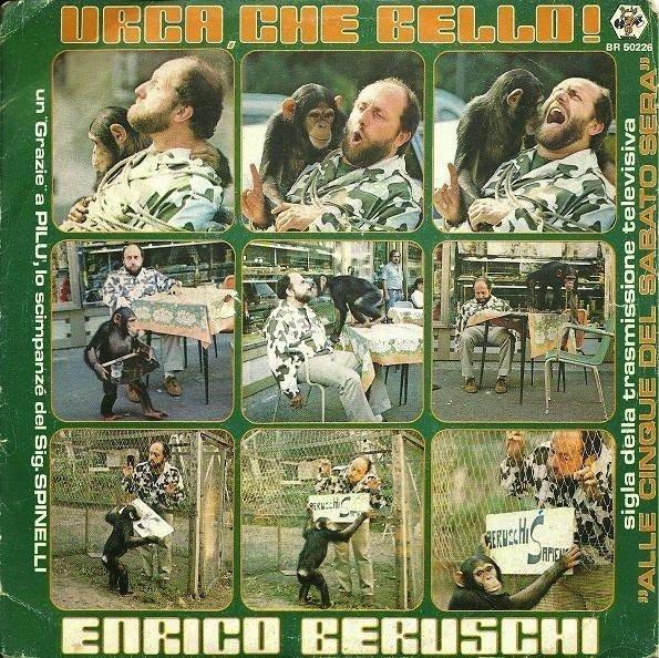 """Enrico Beruschi – Urca, Che Bello! (1980 – 7"""")"""