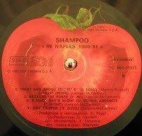 Shampoo - In Naples 1980/81 dettaglio vinile