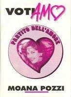 Volantino elettorale del Partito dell'Amore