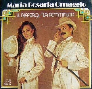 """Maria Rosaria Omaggio - Il Piffero (1981 - 7"""")"""